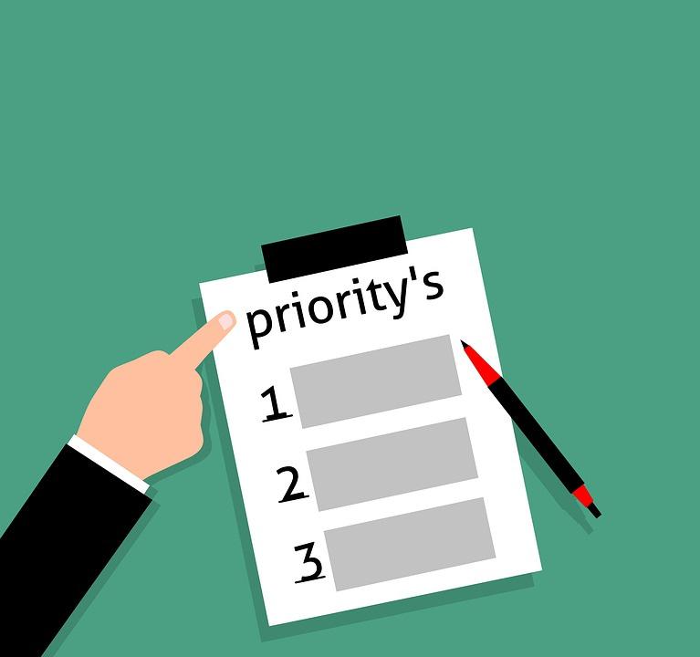 save money on tarvel- Priorities
