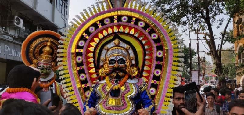 MUMBAI DURING GANESH CHATURTHI FESTIVAL
