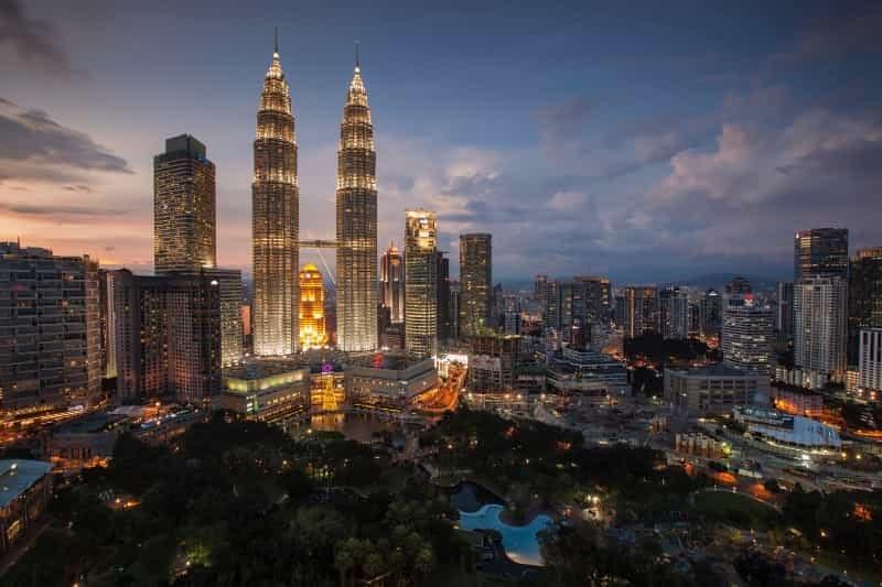 Twin tower of Malaysia